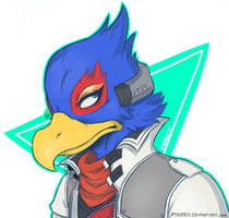 Falco Lombardi. by pterro