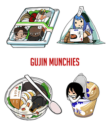 Gujin Munchies by Zennore