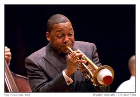 Wynton Marsalis - The Jazz Man by fdpiech