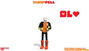 Swapfell Papyrus 3.0! DL by FlareDoesArt