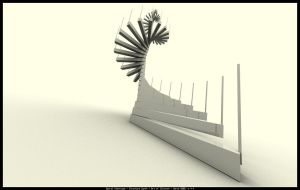 Spiral Staircase by n-to-infty