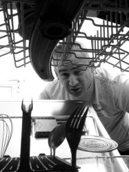 dishwasher looking at me by urban-thinking