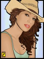 Leona Lewis - love by gdvectors