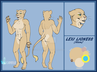 Commission - Lexi Lioness by Scintelle