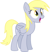 Derpy Smiling by StarshineCelestalis