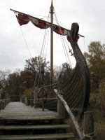 Viking Ship by Dracofemi