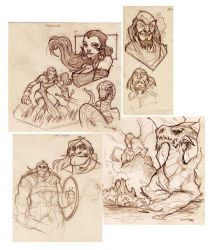 Serpentine project 09-sketches by DenisM79