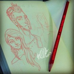 Moleskin Sketches 1 by RehanaKn