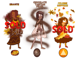 Paypal Autumn Gem Adopts (CLOSED) by OriSODEhime