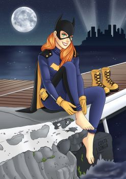 New Batgirl by Costalonga
