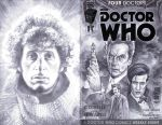 sketchcover 13 Doctor Who by DennisBudd