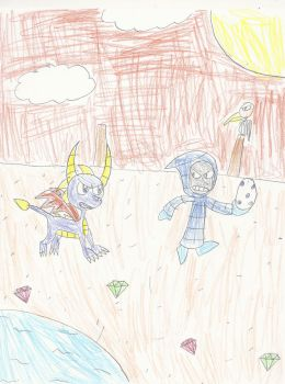 Chasing the Egg Thief by mastergamer20