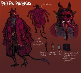 Peter Piebald by BlindKnight