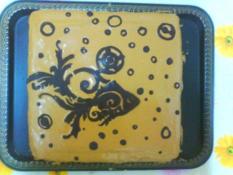 Pisces cake by tonylare
