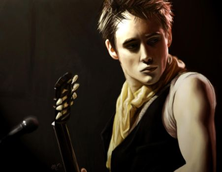 Reeve Carney by xmindizzle