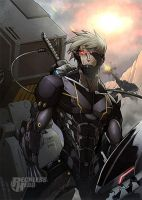 Raiden Metal Gear Solid (Final) by RecklessHero