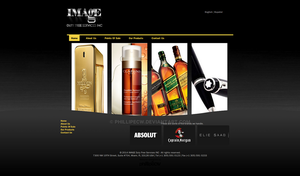 Website design for Image Duty Free Services INC by phillipecw