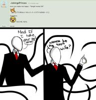 Ask slenderman #9 by ComputerN3RD