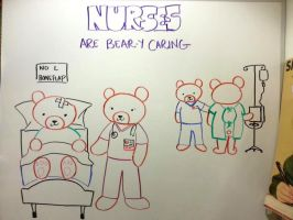 NURSES... Are Bear-y Caring by cephalo786