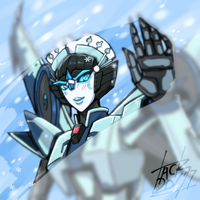 Windblade Blizzard Color by k-tack