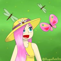 Butterfly Dragonfly Fluttershy by Augustusalex
