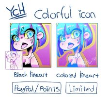 Colorful Ych (Paypal/points) by Ryxner