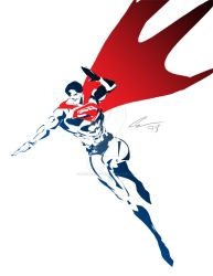 Superman Stencil by randomality85