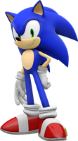 Sonic stand pose by Pho3nixSFM