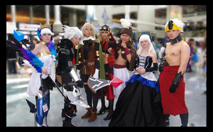 Odin Sphere Group by dahowbbit