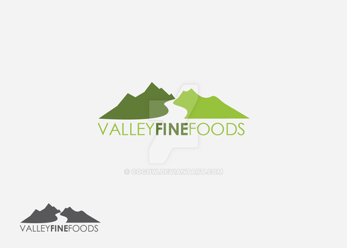 Valley Fine Foods Logo by COGOW