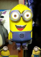 Despicable Me Minion :papercraft: by drawwithme15
