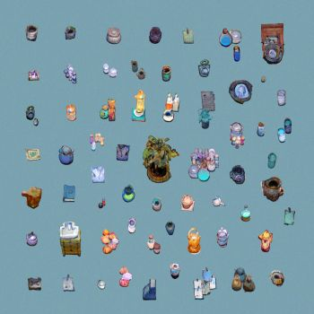Props for Tiny Shops by TomScholes