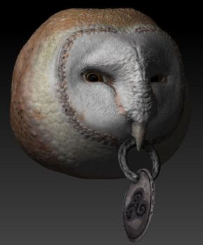 Barn Owl with Prop HD by BetterTheDevilUKnow