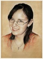 The Portrait Girl by garybonner