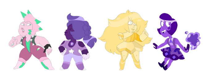 Collab Adopts- Fruit gems! (2/4Open) REDUCED PRICE by popinat