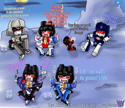 Decepticons R drunk XD by BloodyChaser