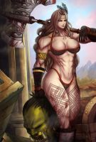 Dragon`s Crown Amazon by darkeyez07