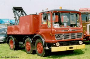AEC Recovery Truck. by FutureWGworker
