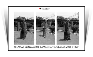 Me Jubah Ramadhan 2016 by carnine9