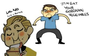 Star Trek: GOD DAMNIT JIM by cocokat