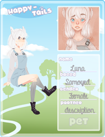 Happy Tails || Luna by asstros
