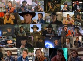 Back to the Future Marty Collage by ENT2PRI9SE