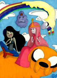 Adventure Time by mgcomix