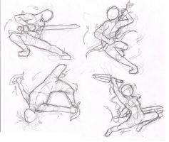 Dynamic pose practice by Elements-of-Time