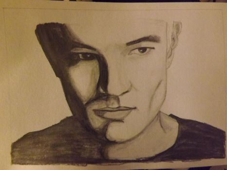 James Marsters pencil drawing by Lisa99