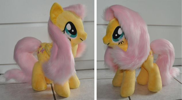 Fluttershy Plush - yeah by Sethaa