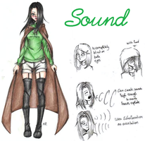 Sound (Creepypasta OC) by MikuParanormal