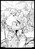 Anders and Hawke_line by Nectim