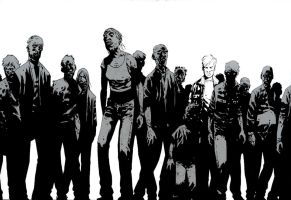The Walking Dead by Graylan
