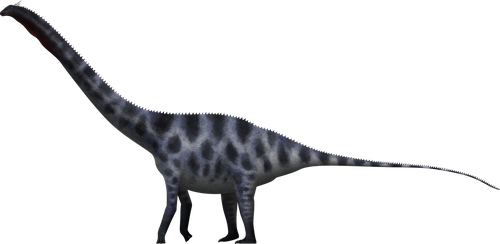 Amphicoelias fragillimus by SpinoInWonderland